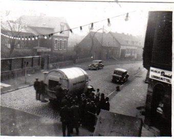 Müllabfuhr in der Hofstattstraße um 1930 © Strempel