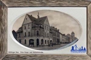 Um 1910: Hier sieht man den Schlauchturm © Michael Wolf