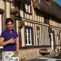 Normandia: ospiti nella chaumière B&B di Isabelle
