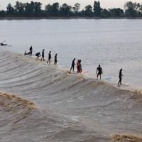 Mascaret: quell'onda fenomenale che risale la Dordogna