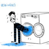 être lessivé