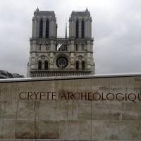 Parigi segreta: la Cripta del sagrato di Notre Dame