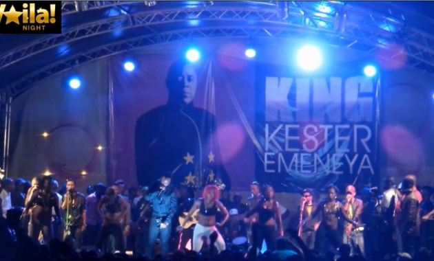 Des videos exclusives du Concert en hommage de King Kester.