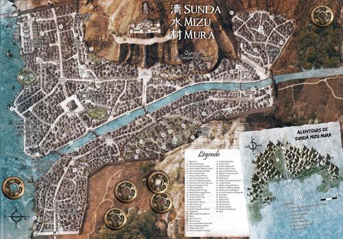Sunda Mizu Mura - Carte de la cité de l