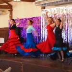 Simply Baja Flamenco dancers
