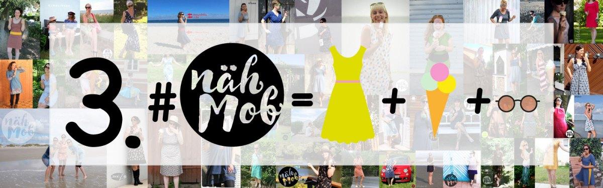 nähMob 3 - mit Kleid, Eis und Sonnenbrille dabei! DANKE!