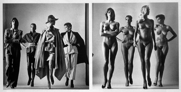 Naked and dressed - Helmut Newton