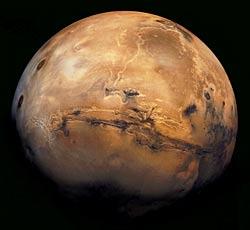 El metano, un posible signo de vida en Marte