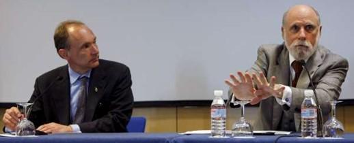 Tim Berners-Lee y Vinton Cerf