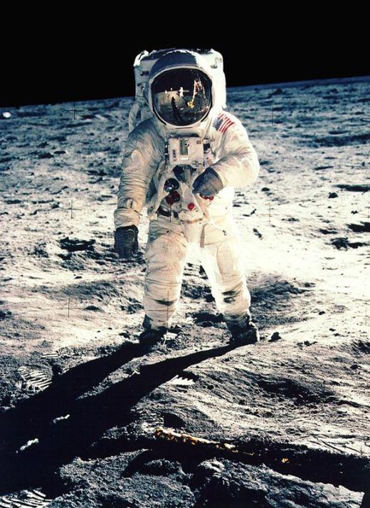 """Edwin """"Buzz'' E. Aldrin Jr. Foto de Neil Armstrong"""