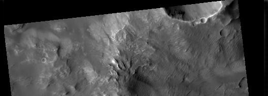Foto de Marte tomada por la cámara HiRISE