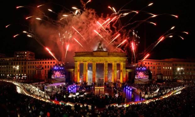 Festejos 20 aniversario de la caída del muro de Berlín