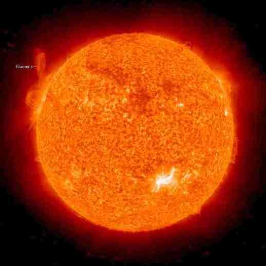 Máxima actividad solar