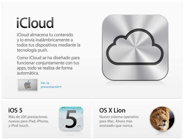 iCloud, iOS5 y OS X Lion