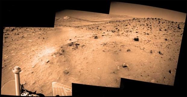 La última imagen de la sonda Spirit