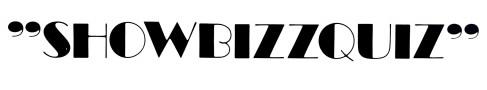 Showbizzquiz (TROS 1978-1985). Sticker uit collectie Hub Berkers/NIBG