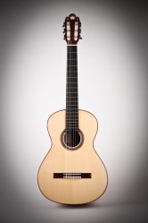 Traditional Classical Guitar, Front View