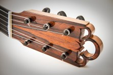 Experimental Classical Guitar, Headstock Detail