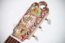 2013 Cigar Box Guitar: Headstock