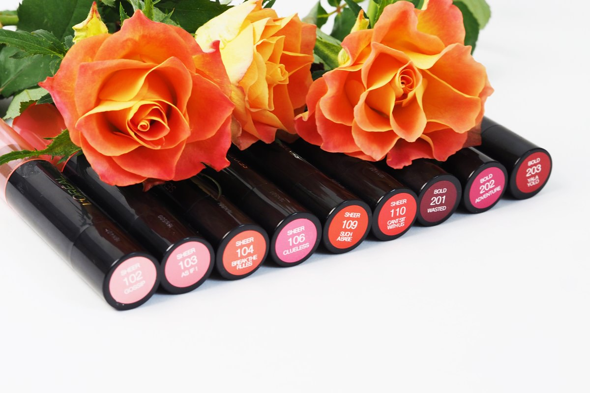 9 Farben für 9 Looks - L'Oréal Indefectible Sexy Balm