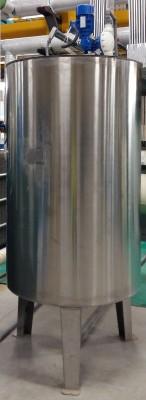 Stainless steel metering dosing tank