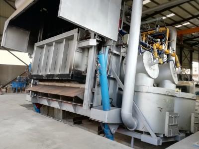 12T Tilting Melting Furnace