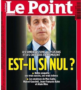 Le Point - Sarkozy est-il si nul