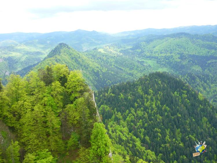 randonnée parc national des pieniny