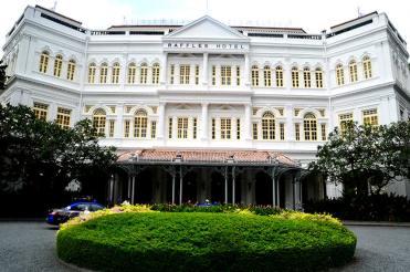 Le très célèbre Raffles Hotel