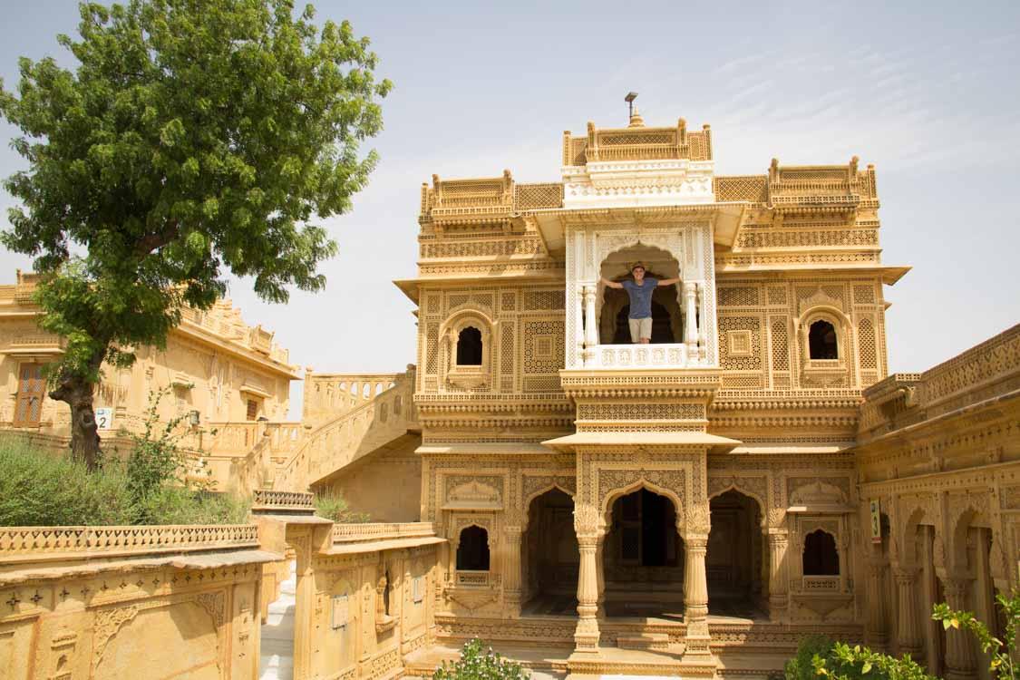 Jaisalmer Amar Sagar Jain temple