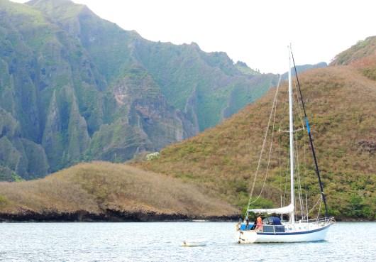 Bob in Hakaui Bay
