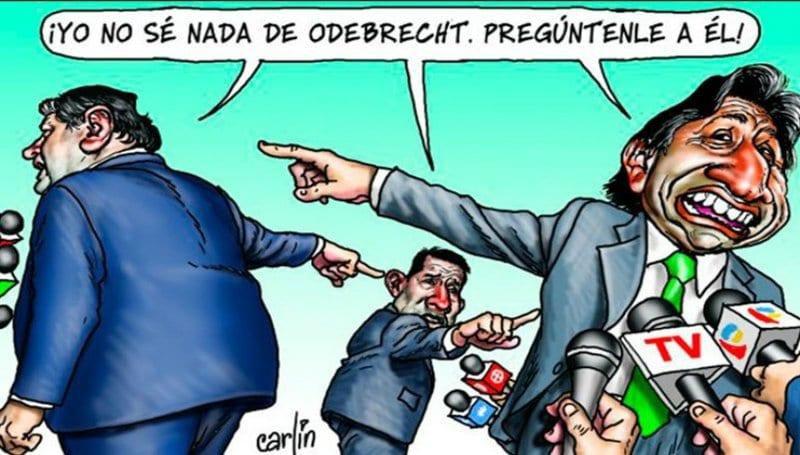 Los presidentes de Odebrecht