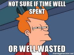Perder tiempo