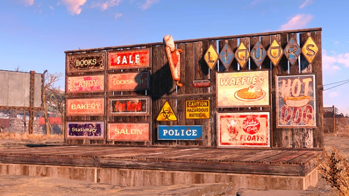 Fallout 4 patch items