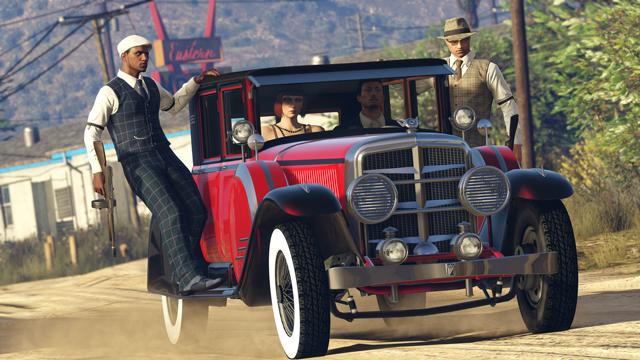 Grand Theft Auto Online - Albany Roosevelt Valor