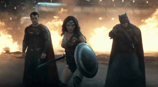 It was cool to see the Trinity on screen, albeit for a short time.