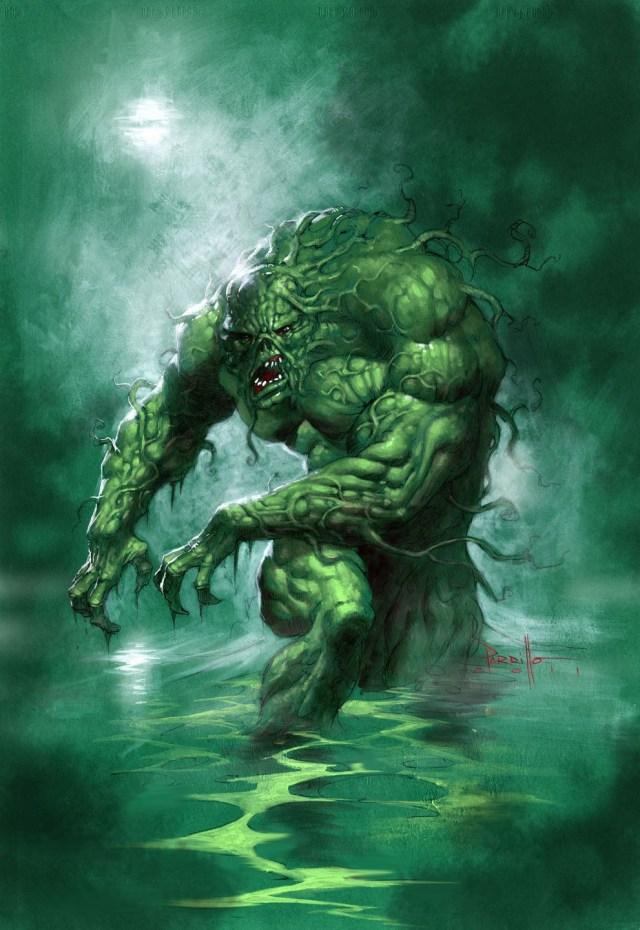Injustice 2 Swamp Thing