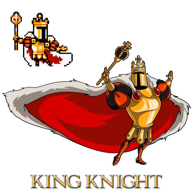 Shovel Knight - King Knight