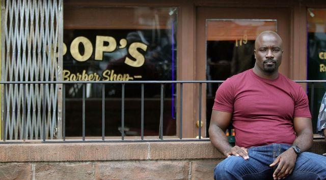 Luke Cage Barber Shop