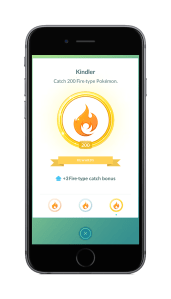 Pokémon Go - Fire Catch Bonus