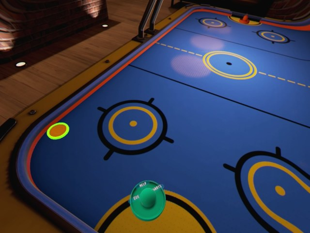 Air Hockey was my favorite of the bar games included