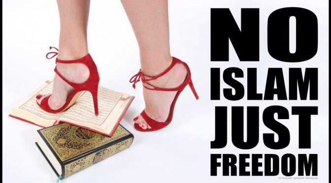 'No Islam, just Freedom'