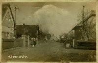 historická pohlednice Všestud