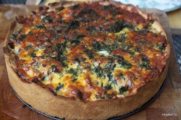 Пирог на сметане без яиц в мультиварке рецепты с