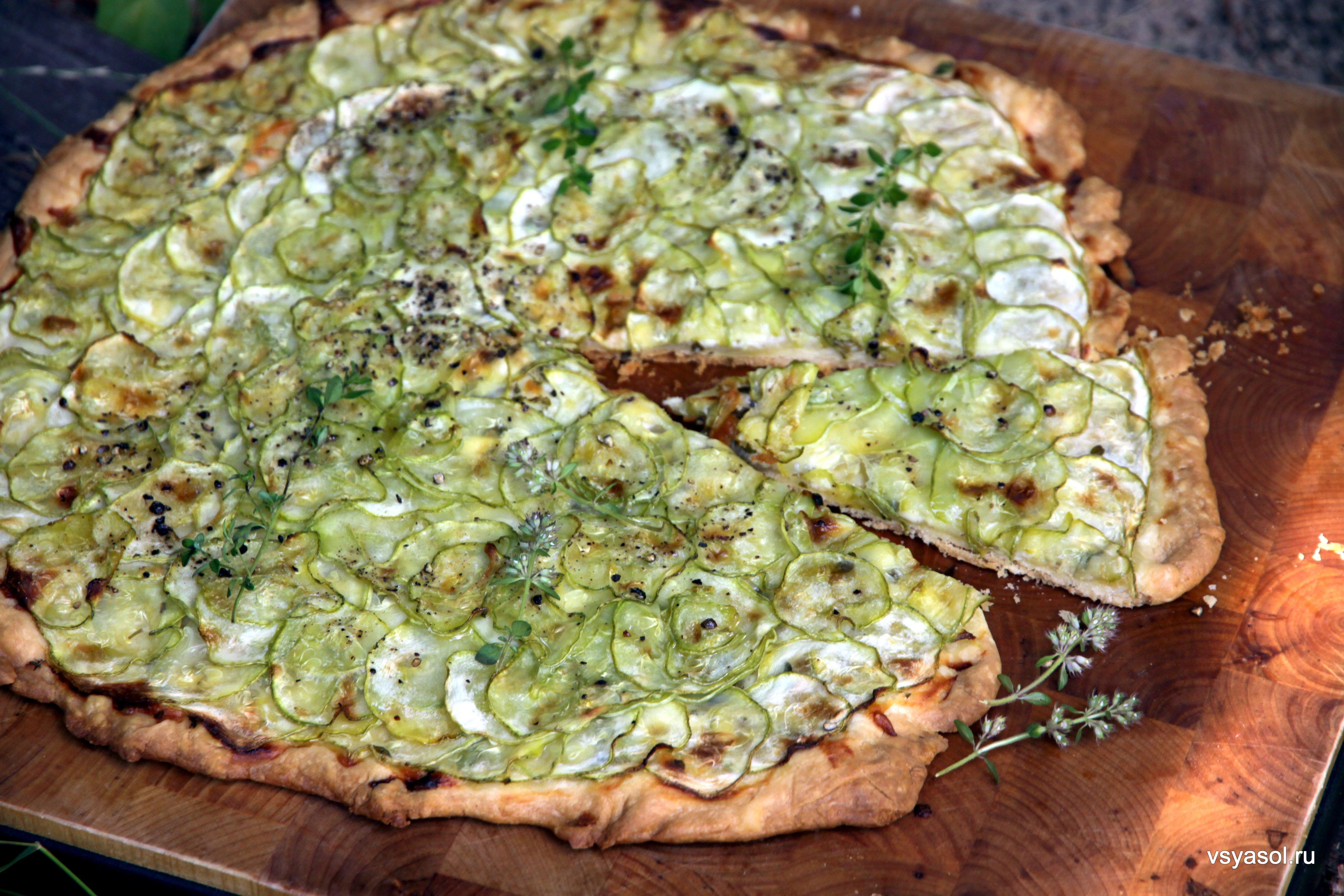 Пирог из кабачка сладкий рецепт