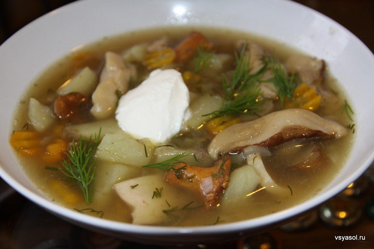 Суп с грибами белыми замороженными грибами рецепт с пошагово