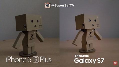 Galaxy S7 vs iPhone 6s - low light