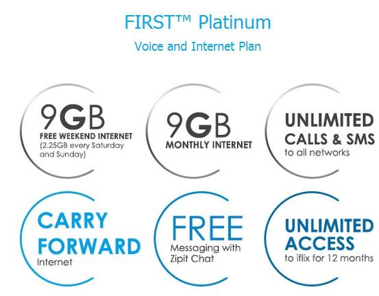 Celcom First Platinum Plan