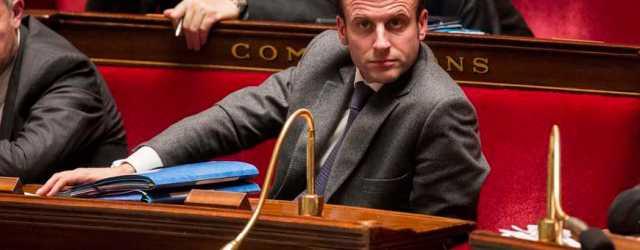 Christophe Morin / IP3 . Paris, le 10 fevrier 2015 - Seance de questions d actualite au gouvernement a l Assemblee Nationale en presence de Emmanuel Macron, ministre de l Economie, de l Industrie et du Numerique (MaxPPP TagID: maxnewsworldthree683534.jpg) [Photo via MaxPPP]