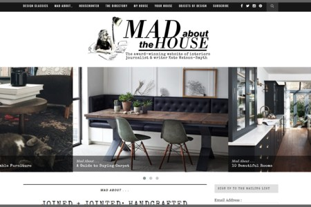 interior design blog ranking madaboutthehouse